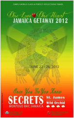One Love One Heart Jamaica Getaway 2012 - Flyer Photo